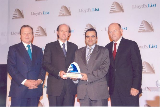 TSAVLIRIS SALVAGE GROUP wins the Lloyds List Greek Shipping Safety & Environmental Award 2007.